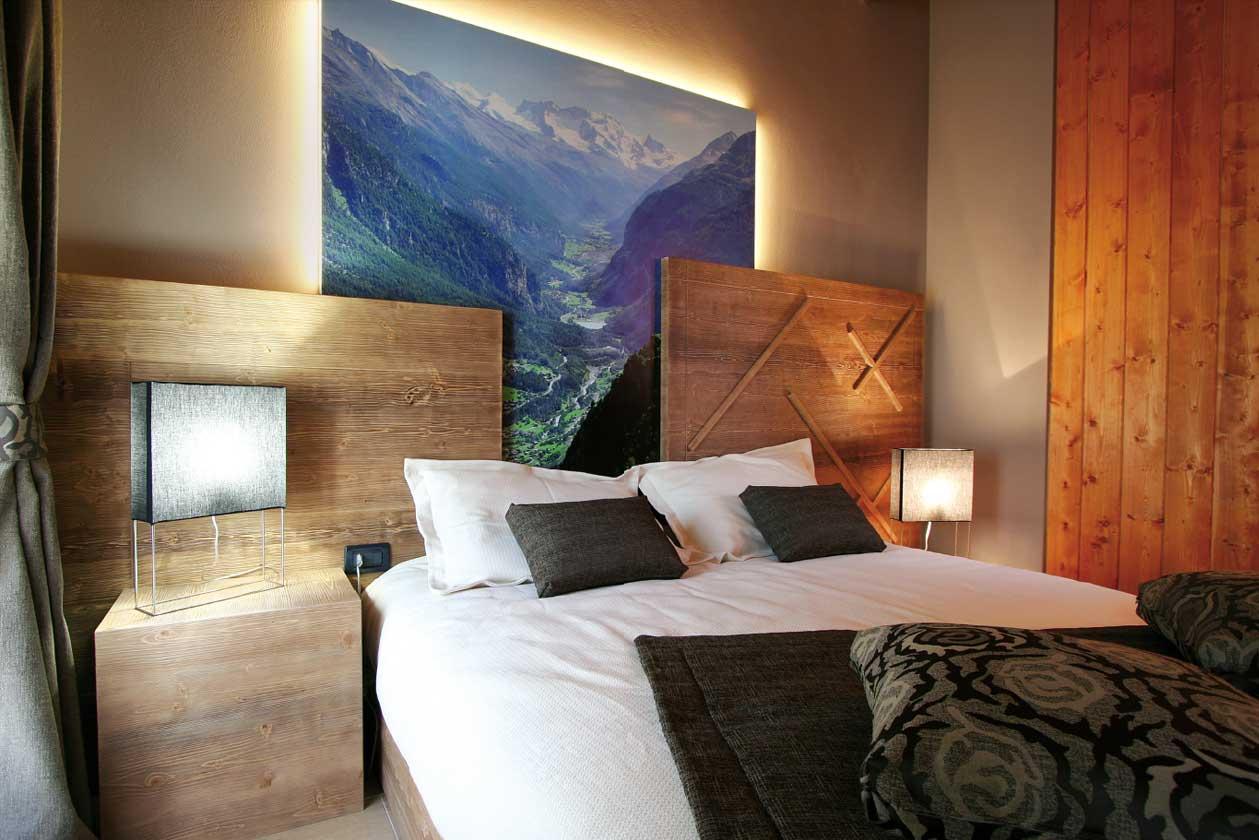 residence mobili in legno massello moderni