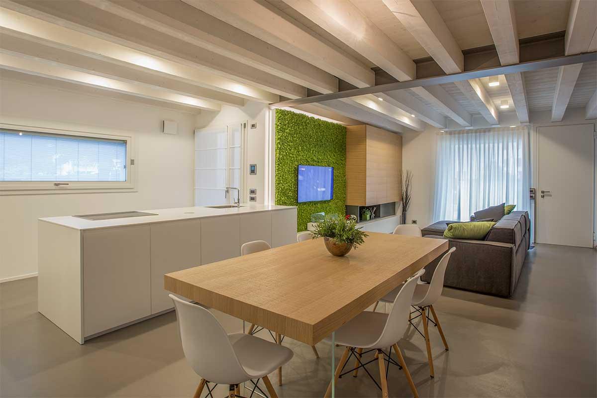 arredo cucina soggiorno open space