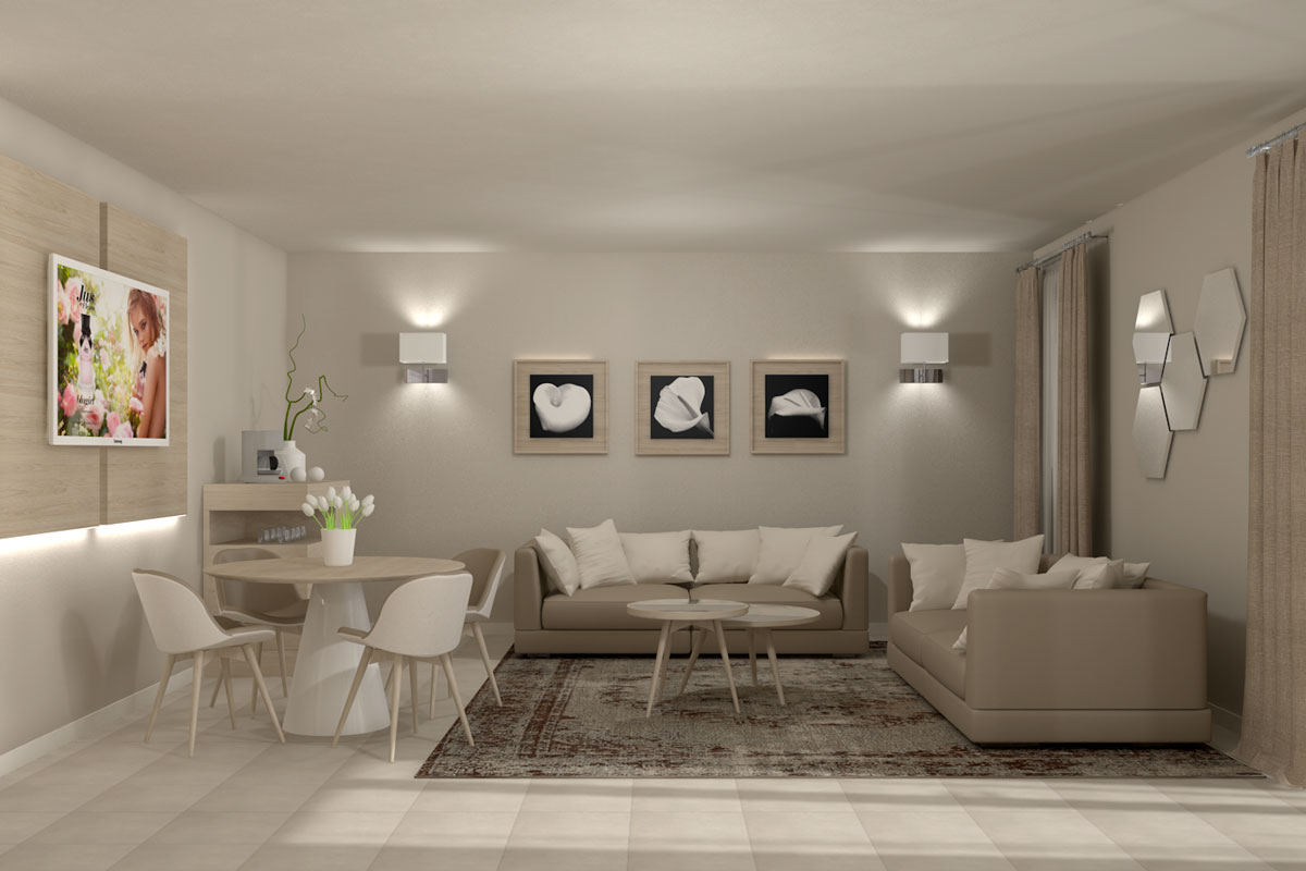 renderign arredo residence