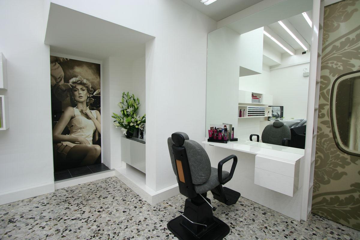 arredamento salone parrucchiera
