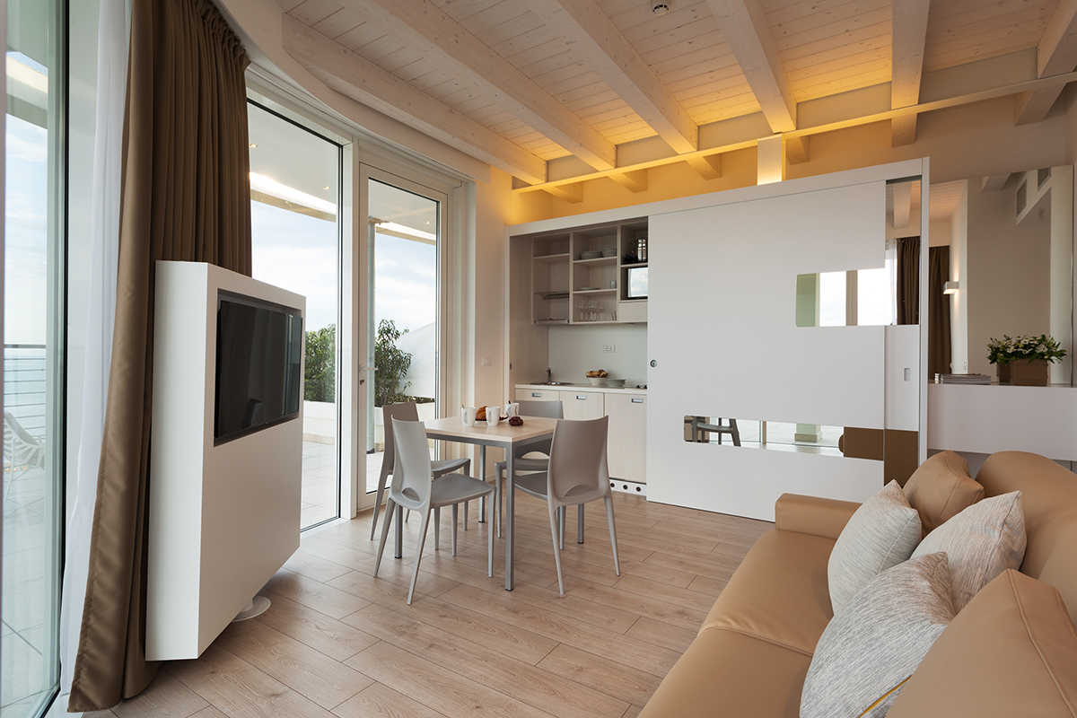 arredi moderni aparthotel