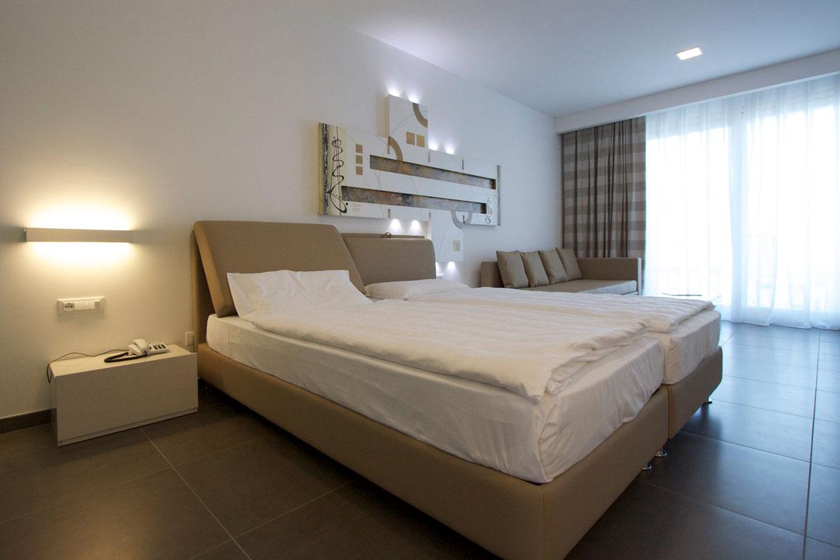 camera hotel con cucina