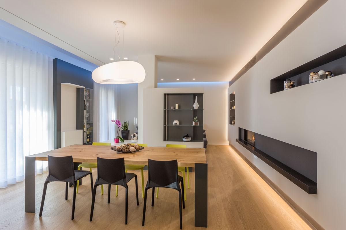 cucina e living modulare