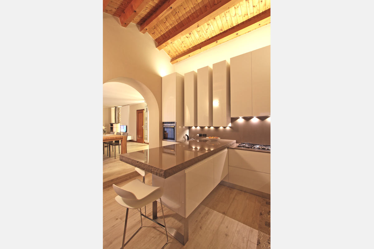 Progetto living 38 gruppo 5 arredamento hotel contract casa - Gruppo 5 cucine ...
