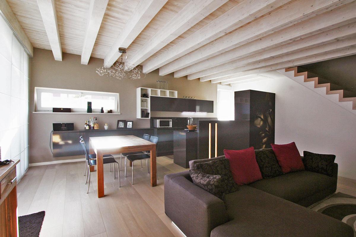 Arredamento Casa Moderno living area project 37 | gruppo 5 | custom-made furnishings
