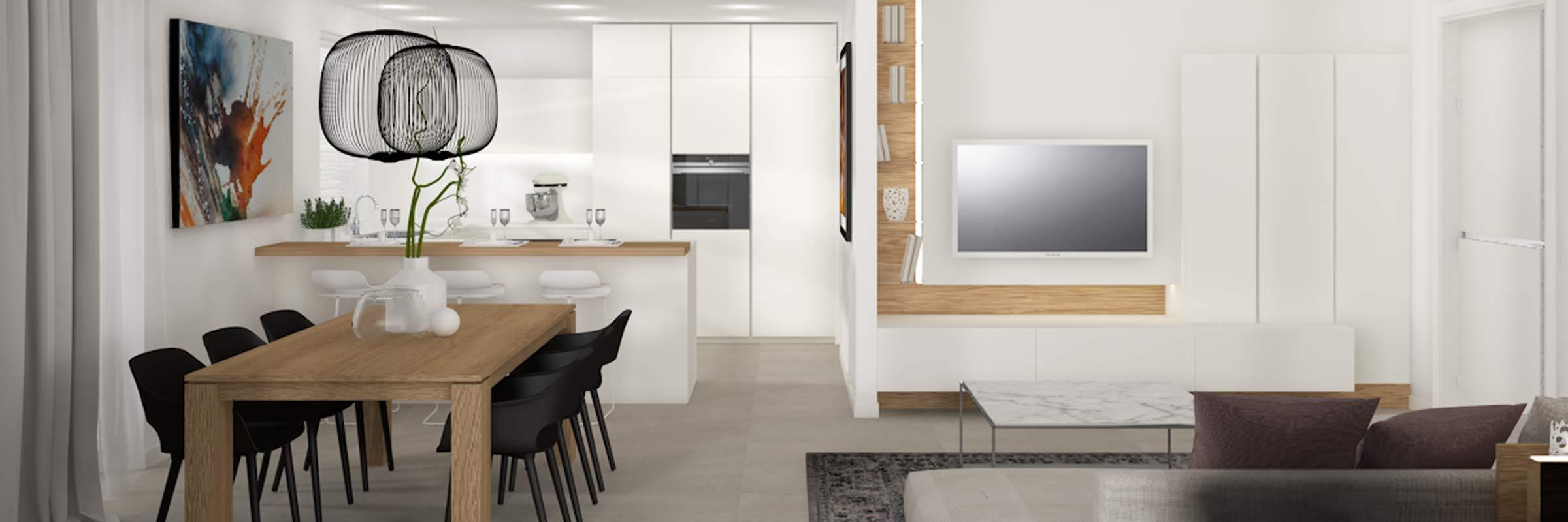 render living moderno