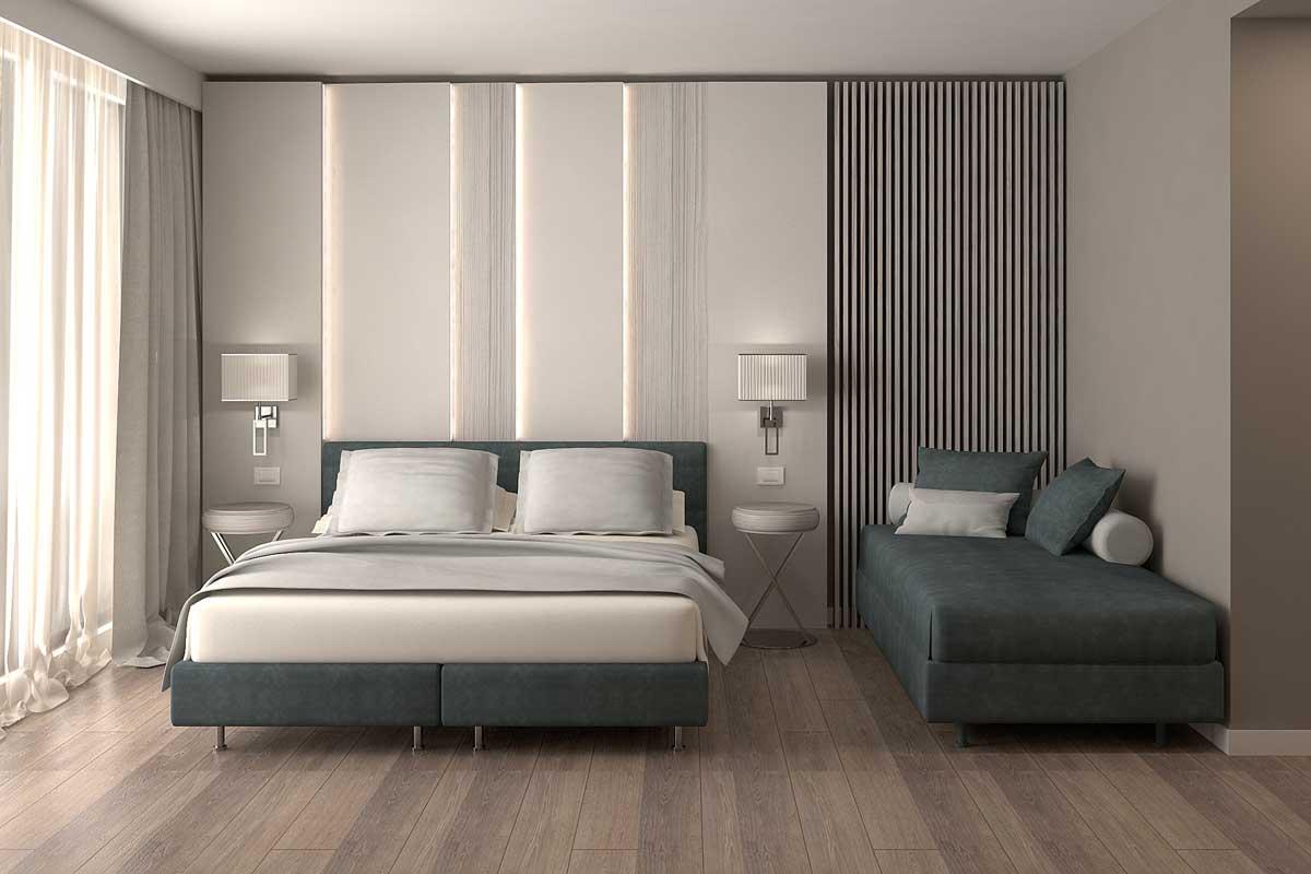Arredo e realizzazione suite per Hotel