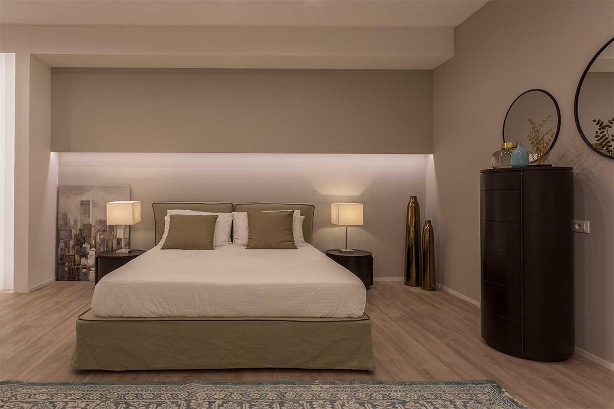 Nuovo Arredo Camere Matrimoniali.Progetto Camera Matrimoniale 218 Gruppo 5 Arredamento Hotel
