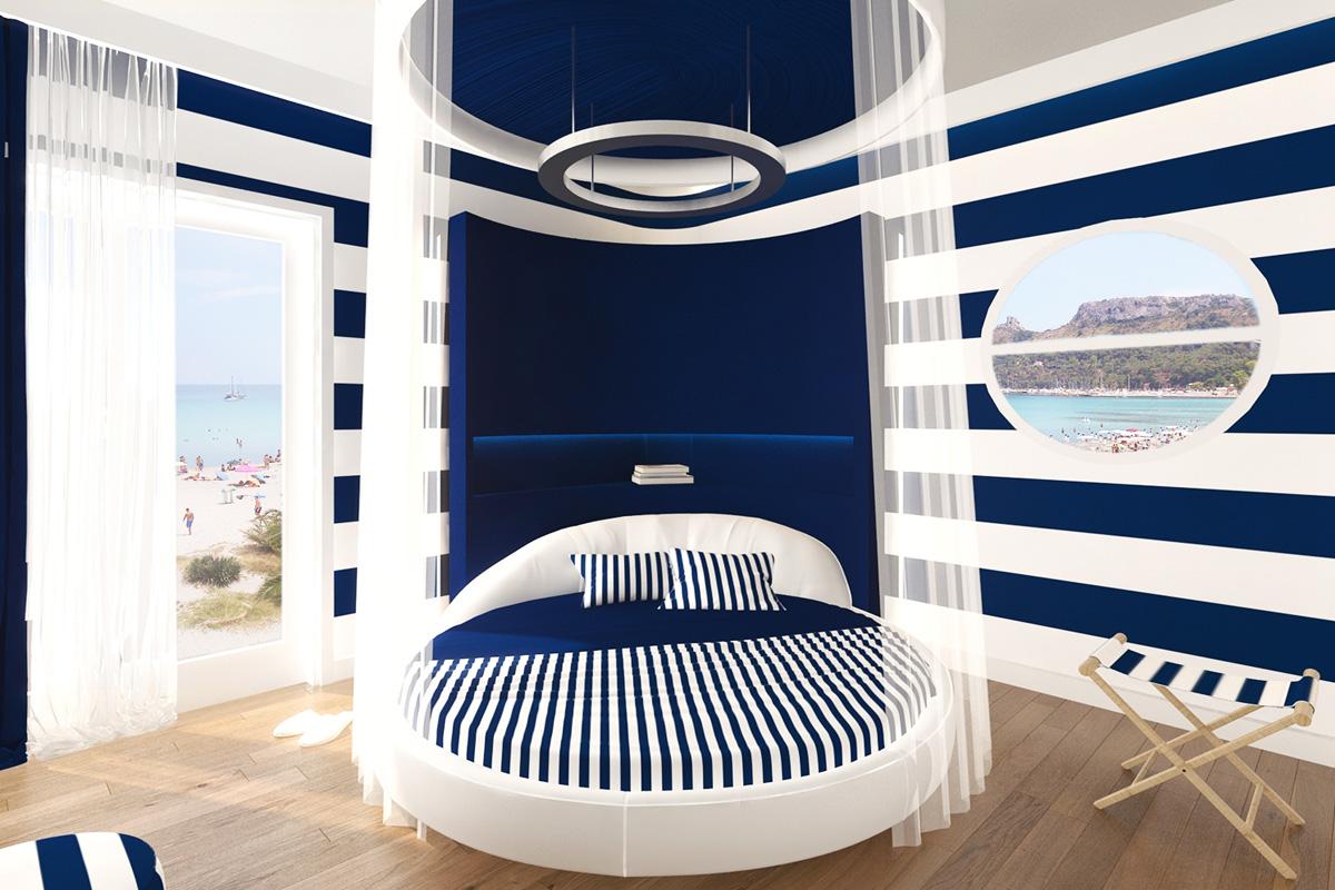 1-hotel-nautilus-cagliari-interni-moderni-stile-marinaro